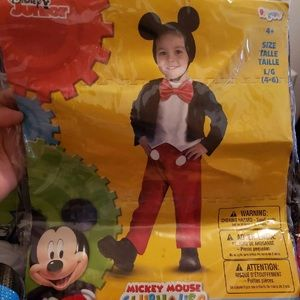 Mickey Mouse Costume-Brand New!